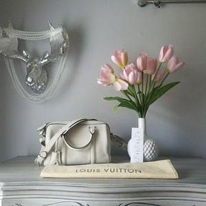 Louis Vuitton SC BB Creme Colored Handbag